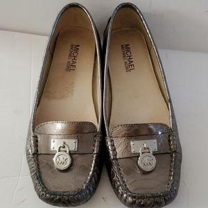 Michael Kors Hamilton Loafer Pewter Size 6M